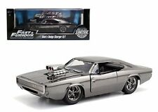 JADA 1:24 FAST AND FURIOUS CHROME LIMITED EDITION 1969 DODGE CHARGER R/T 54046