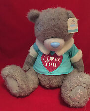 "ME TO YOU BEAR TATTY TEDDY X LARGE 24"" I LOVE YOU JUMPER JERSEY PLUSH GIFT"