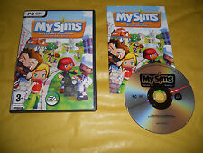 PC GAME-MY SIMS-EA-Computer-Gioco-Games-ITALIANO-ITA