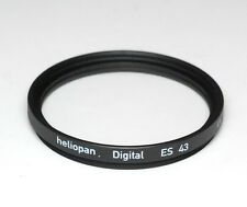 Heliopan UV Filter ES 43mm x 0,75 vergütet Slim - Made in Germany (NEU/OVP)