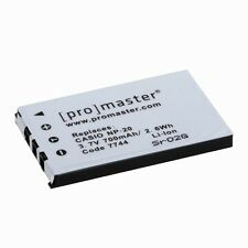 ProMaster NP-20 XtraPower Lithium Ion Battery for Casio #7744