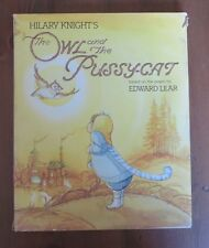The OWL and the PUSSY-CAT Edward Lear Hilary Knight HB/DJ 1983 1st Print