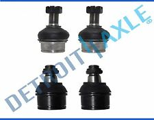 NEW 4pc Front Suspension Upper & Lower Ball Joint Set for Ford F-250 & F-350 4x4