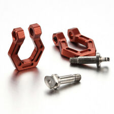 TFL CNC Aluminum Towing Shackle For SCX 10 D90 1/10 Scale RC Rock Crawler in Red
