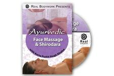 Ayurvedic Facial Massage w/ Shirodhara Spa Video On DVD
