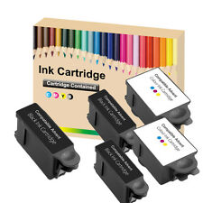 5 Compatible Advent 10 Ink Cartridge ABK10 & ACRL10 for A10 AW10 AWP10 Printer 2