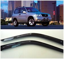For Suzuki Grand Vitara 3d 1998-2005 Window Visors Rain Guard Vent Deflectors