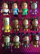 "Disney Vinylmation 3"" Beauty & the Beast complete set of 12 with Chaser **Rare**"