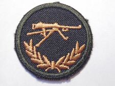 Canadian Armed Forces machine gun qualification trade badge level 2 green