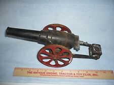 VINTAGE CAST IRON BIG BANG CANNON 8F original condition.