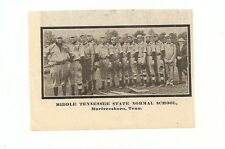 Middle Tennesse State Normal School Laub Bros. KY 1913 Baseball Team Picture