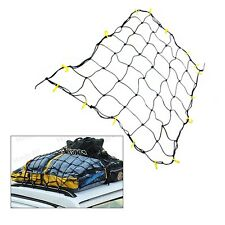"Truck suv car 36"" x 60"" Inch Cargo Net 16 Neon Yellow Hooks tie down pick up bed"