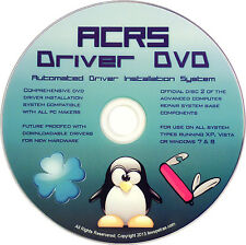 ACRS Driver DVD for Dell & Gateway Laptop/Desktop Running Windows 8 7 Vista mt5