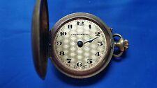 Antique Chronometer Pocket Watch. Ancre De Precision 15 Rubis. Swiss. For parts.