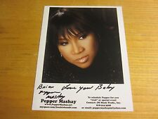 "Pepper MaShay Dance Musician Autographed Signed 8X10 Photo ""Lost Yo Mind"""
