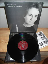 "KLAUS FLOURIDE ""The Light Is Flickering"" LP ALT. TENTACLES USA 1991 - INNER"
