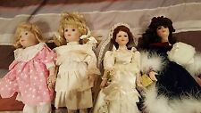 lot of (24) Porcelain Dolls - Victorian style - elegant - great collection