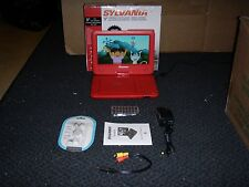"9"" Sylvania SDVD9020B-RED portable dvd player"