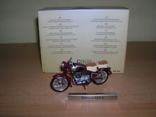 Atlas Simson 425S / 425 S wine red GDR Motorcycle Moped1:24 Motorbike Moto