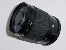 SIRIUS 500mm f/8 MC MIRROR Manual Lens with Pentax PK T-Mount Ring
