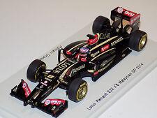1/43 Spark Formula 1 Lotus Renault E22 2014 car #8 Romain Grosjean S3089