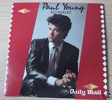 PAUL YOUNG - NO PARLEZ DAILY MAIL PROMO CD RARE (FREE UK POST)
