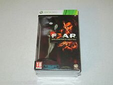 F.E.A.R. 3 Collector's Edition XBOX 360 Italian Import Unopened FREE SHIPPING