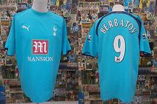maglia calcio shirt maillot camiseta trikot TOTTHENAM BERBATOV TG L