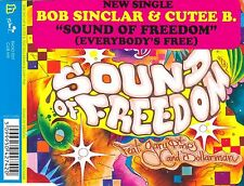 cd-single, Bob Sinclar & Cutee B - Sound Of Freedom (Everybody's Free), 2 Tracks