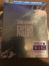 Captain Phillips STEELBOOK DVD Blu-ray Disc Movie  + DIGITAL COPY NEW SEALED USA