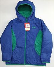 NEW The North Face Jaya Green Purple Reversible Puffer Jacket Coat Girls XL 18