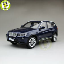 1/18 BMW X3 F25 xDrive 35i RMZ MODEL Diecast Model Car SUV Blue