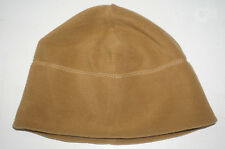 NEW! USMC Micro Fleece Watch Cap Hat Beanie Coyote Brown EXTREME COLD WEATHER