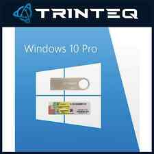 Microsoft Windows 10 Professional Pro USB 32bit + 64bit + COA Multi-Language