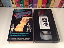 * Double Hit aka The Next Man Action Thriller VHS 1976 Sean Connery Ace Video