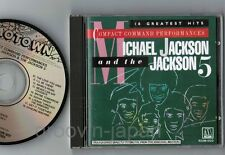 MICHAEL JACKSON & JACKSON 5 18 Greatest JAPAN CD 86 issue R32M-1022 w/PS BOOKLET