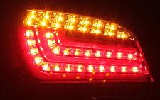 LED BAR RÜCKLEUCHTEN für BMW 5er E60 03-07 FACELIFT LOOK ROT KLAR RED CLEAR TÜV