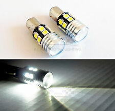 BA15s 1156 White Cree Q5 LED Bulbs 12 5050 SMD 7W Back up Bulbs Projector Lens