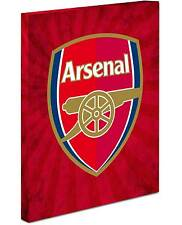 Arsenal Crest Canvas Wrap On Flare