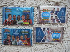 PANINI adrenalyn champions league  update  packets 2012   2015  2013 boosters