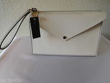 New Marc by Marc Jacobs Metropoli Saffiano Leather Pouch, Wristlet, Clutch, Bag