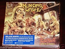 Municipal Waste: The Fatal Feast Deluxe Edition CD 2012 Bonus Track Digipak NEW