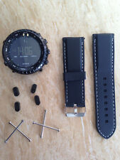 For Suunto Core ESSENTIAL TRAVERSE Rubber Silicone Strap Band+Adapter+Buckle