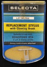 Selecta remplacement record player stylus pour sonotone 9TA-neuf