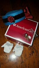 American Girl Doll Cecile's Accessories NEW Gloves Necklace Hat