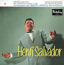 ★☆★ CD Single Henri SALVADOR - Quincy JONES Blouse du dentiste 4-track RARE ★☆★