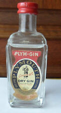 STOCK - PLYMOUTH DRY GIN  - MINIATURE MIGNON