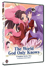 The World God Only Knows . Complete Series Two . Season 2 . Anime . 2 DVD . NEU