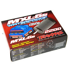 Traxxas MXL-6s Brushless Power System Waterproof ESC & 2200kV Brushless Motor