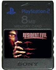 RESIDENT EVIL Cheats MEMORY CARD SAVES 2 3 4 PS2 PS1 Code Veronica X Nemesis